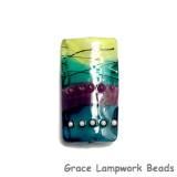 11837703 - Begonia Stripes Kalera Focal Bead