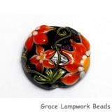 11838002 - Clementine's Elegance Lentil Focal Bead
