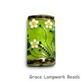 11838503 - Spring Green Florals Kalera Focal Bead