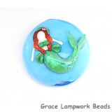 Mermaid Lentil Focal Bead