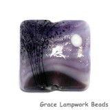 11839504 - African Violet Moonlight Pillow Focal Bead