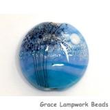 11839602 - Bluebell Moonlight Lentil Focal Bead