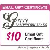 Gracebeads.com $10 Gift Certificate