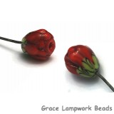 GHP-01: Red Floral Headpin