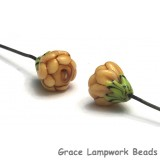 GHP-04: Taupe Floral Headpin