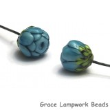 GHP-07: Blue Floral Headpin