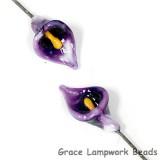 GHP-29: Violet Purple Calla Lily Floral Headpin