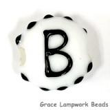 LTR-B: Letter B Single Bead