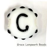 LTR-C: Letter C Single Bead