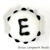 LTR-E: Letter E Single Bead
