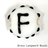 LTR-F: Letter F Single Bead