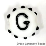 LTR-G: Letter G Single Bead