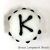 LTR-K: Letter K Single Bead