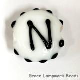 LTR-N: Letter N Single Bead