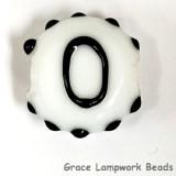 LTR-O: Letter O Single Bead