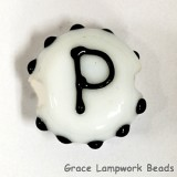 LTR-P: Letter P Single Bead