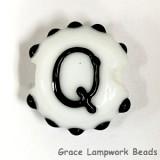 LTR-Q: Letter Q Single Bead