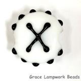 LTR-X: Letter X Single Bead