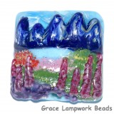Rocky Mountain Focal Bead Grace Lampwork Beads