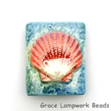 PM031824 - 18x24mm Porcelain Puffed Rectangle Scallop