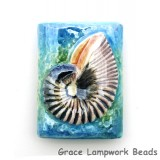 PM042432 - 24x32mm Porcelain Puffed Rectangle Nautilus