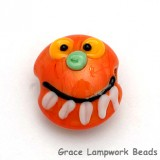 Pumpkin Face Bead