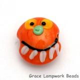Pumpkin Face Bead