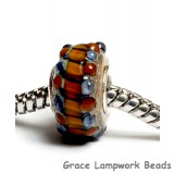 SC10066 - Large Hole Pepper Spice Rondelle Bead